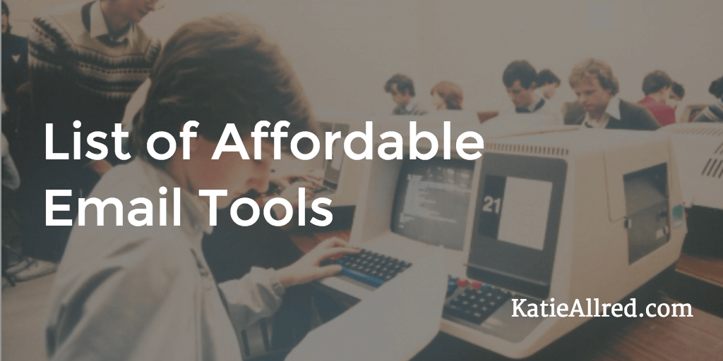 Affordable Email Tools